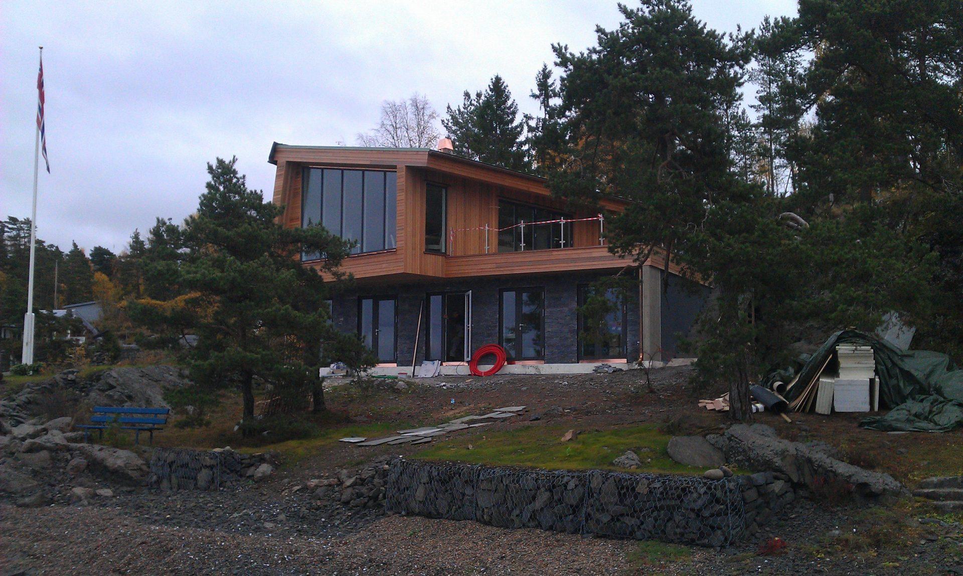 Hytte front Jeløy